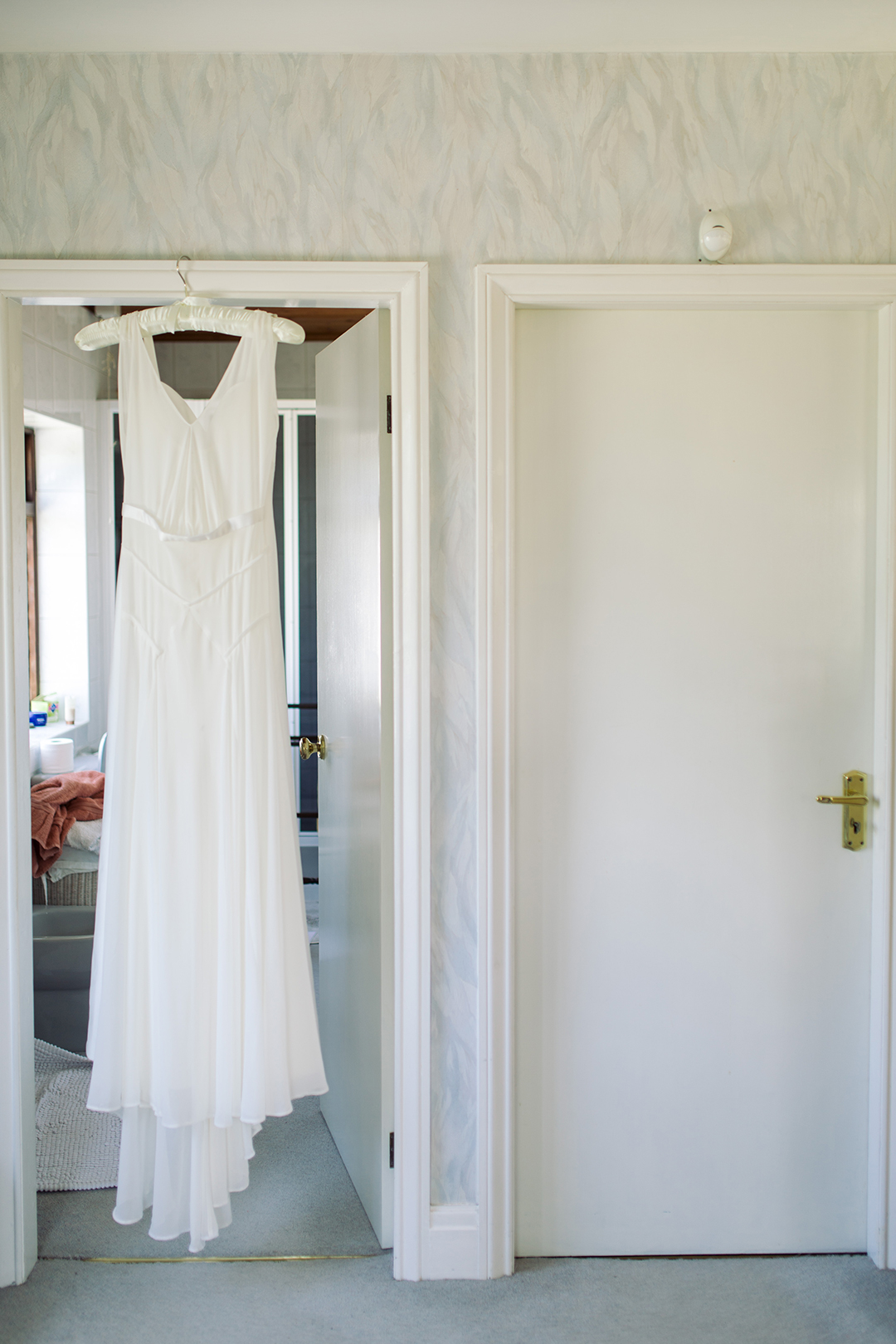 elegant bohemian wedding dress at a festival style wedding