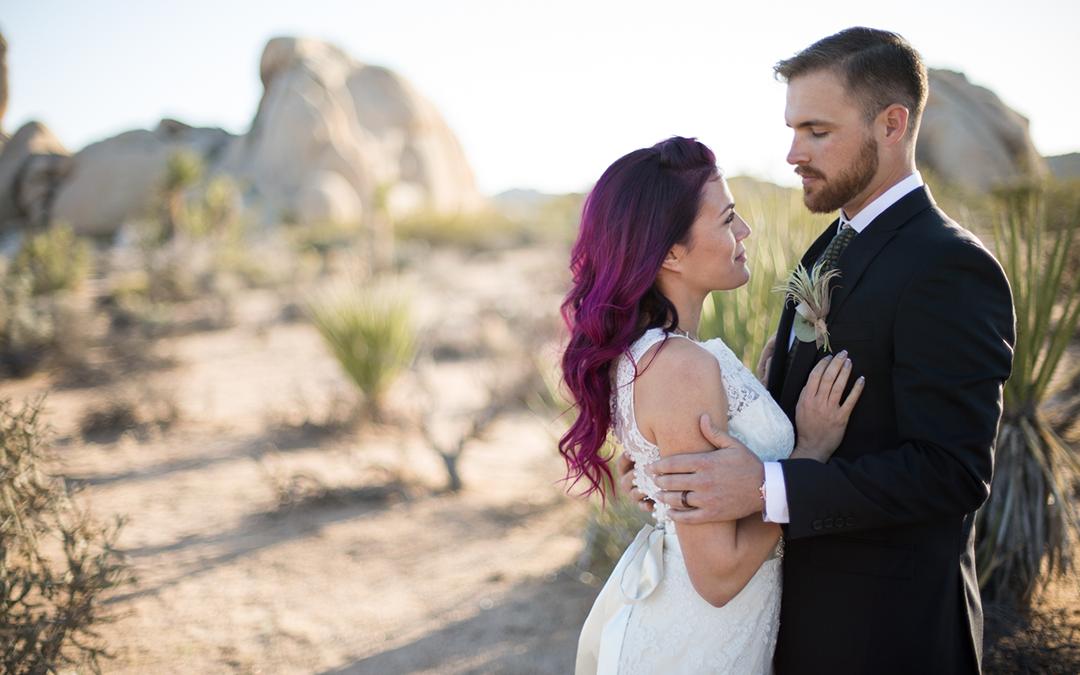 Eclectic Boho Desert Wedding Styled Shoot in California
