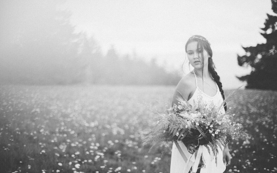 And When It Rains….. A Beautiful Bohemian Bridal Shoot by Carito Photography