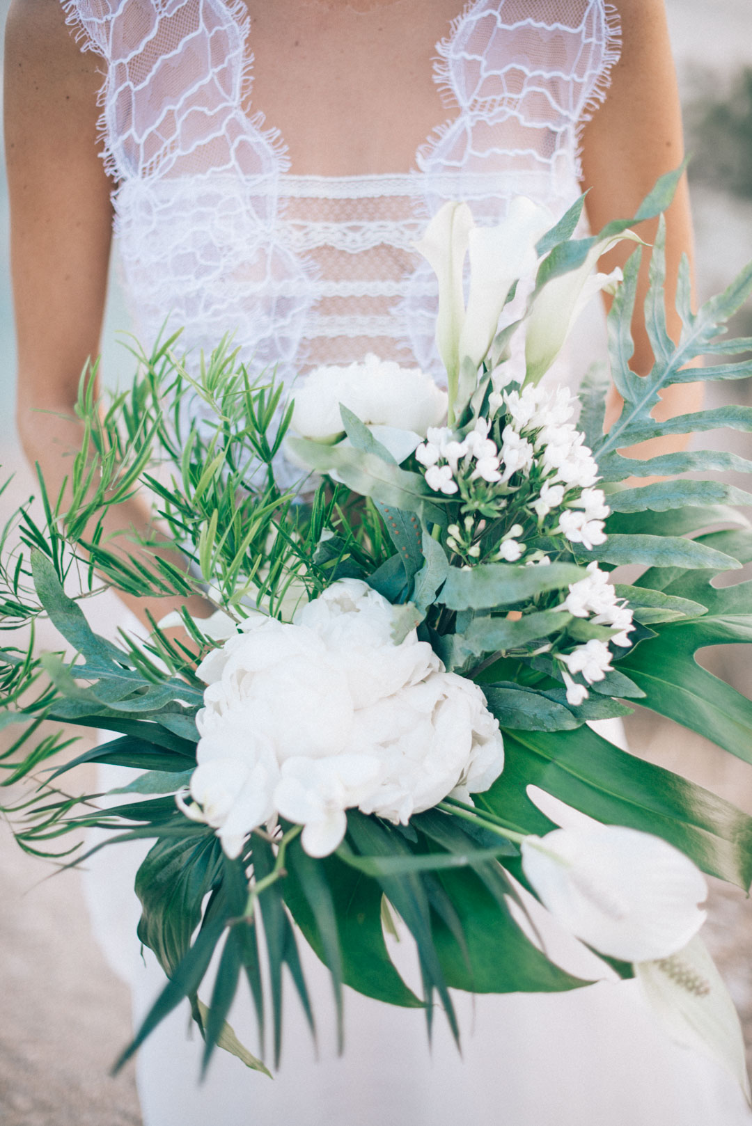 large-white-and-green-flower-wedding-bouquet-for-a-bohemian-bride