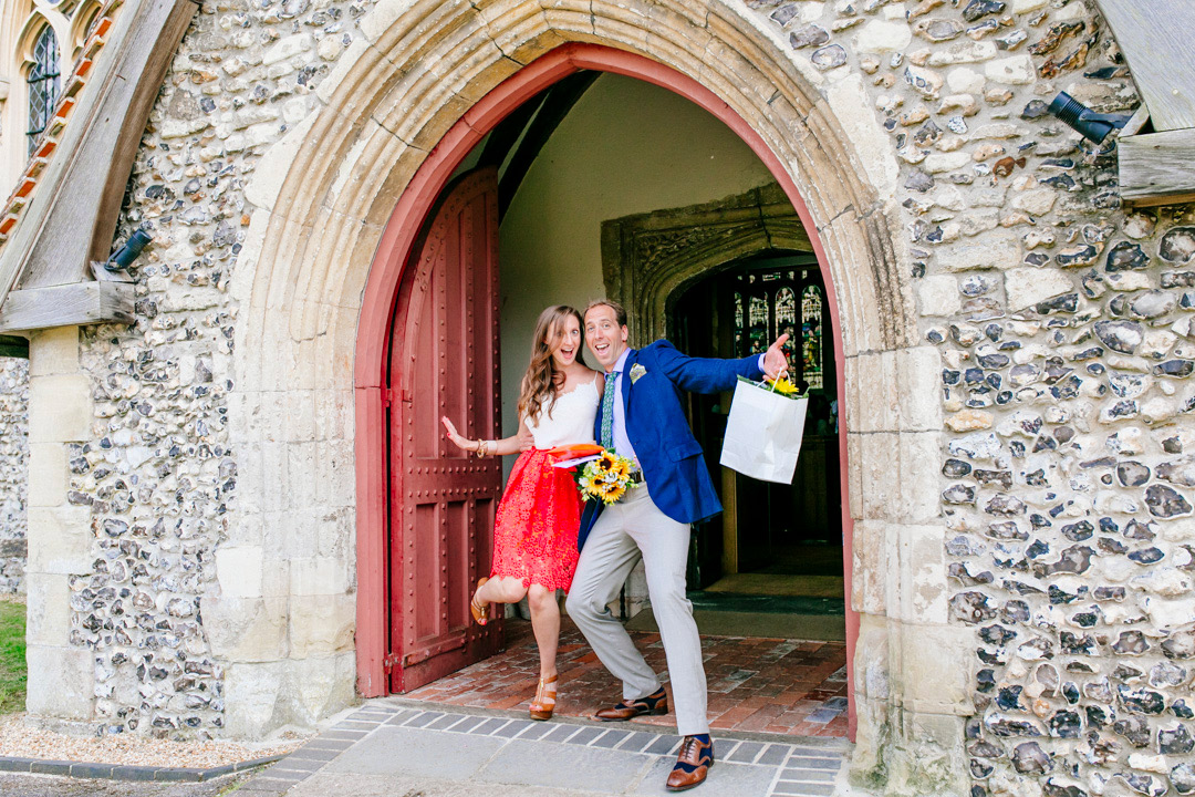 wedding-guests-church-ceremony-glastonbury-festival-wedding-els-photography