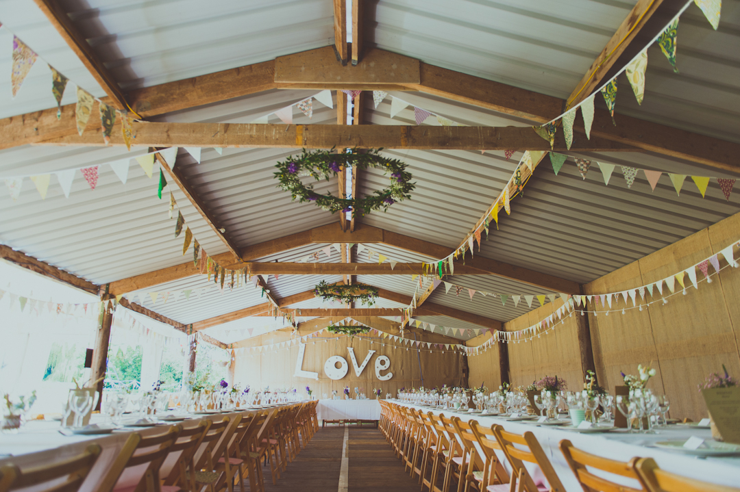 DIY-barn-wedding-decor-vicky-and-james-festival-wedding