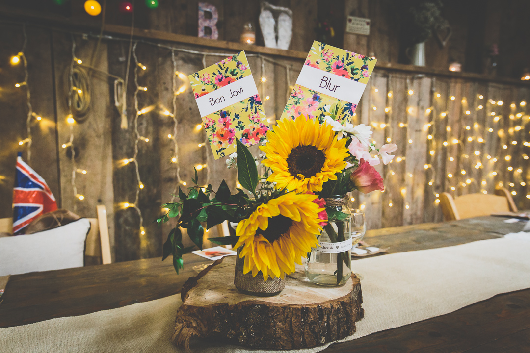 snflowers-barn-decor-ideas-festival-style-wedding-in-devon-alexa-pope-photography