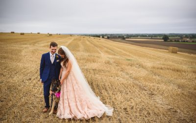 Claire and Simon's Bright, colourful and Relaxed Festival Wedding