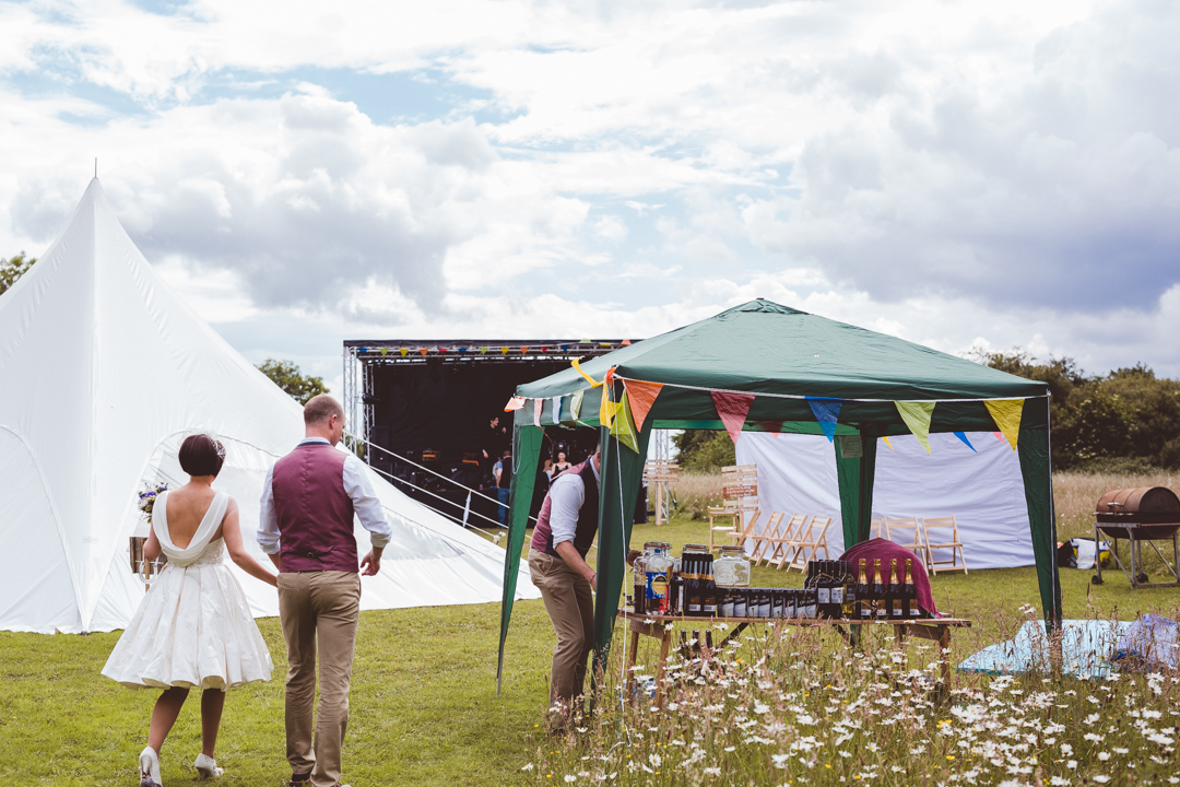 stetch-tents-jen-and-mat's-festival-wedding-at-Scraptoft farm