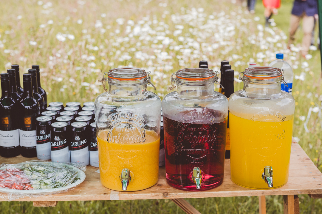 vintage-drinks-jen-and-mat's-festival-wedding-at-Scraptoft farm