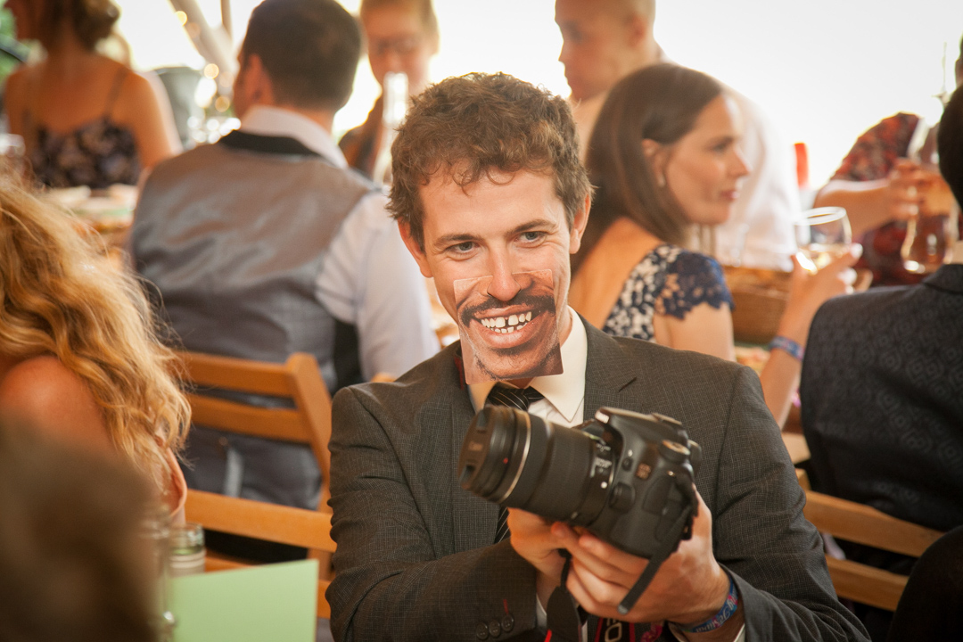 funny-masks-guest-entertainment-sara-and-tims-festival-wedding-joe-buford-photography