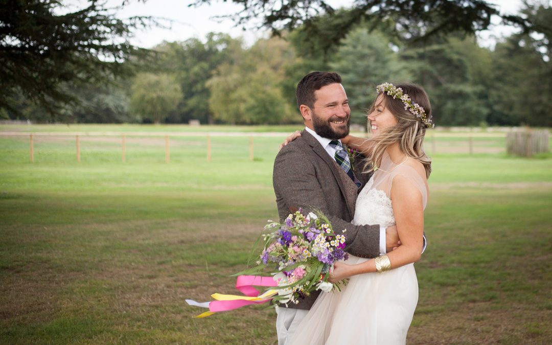 Sara and Tim's Fun and Informal Tipi Festival Wedding