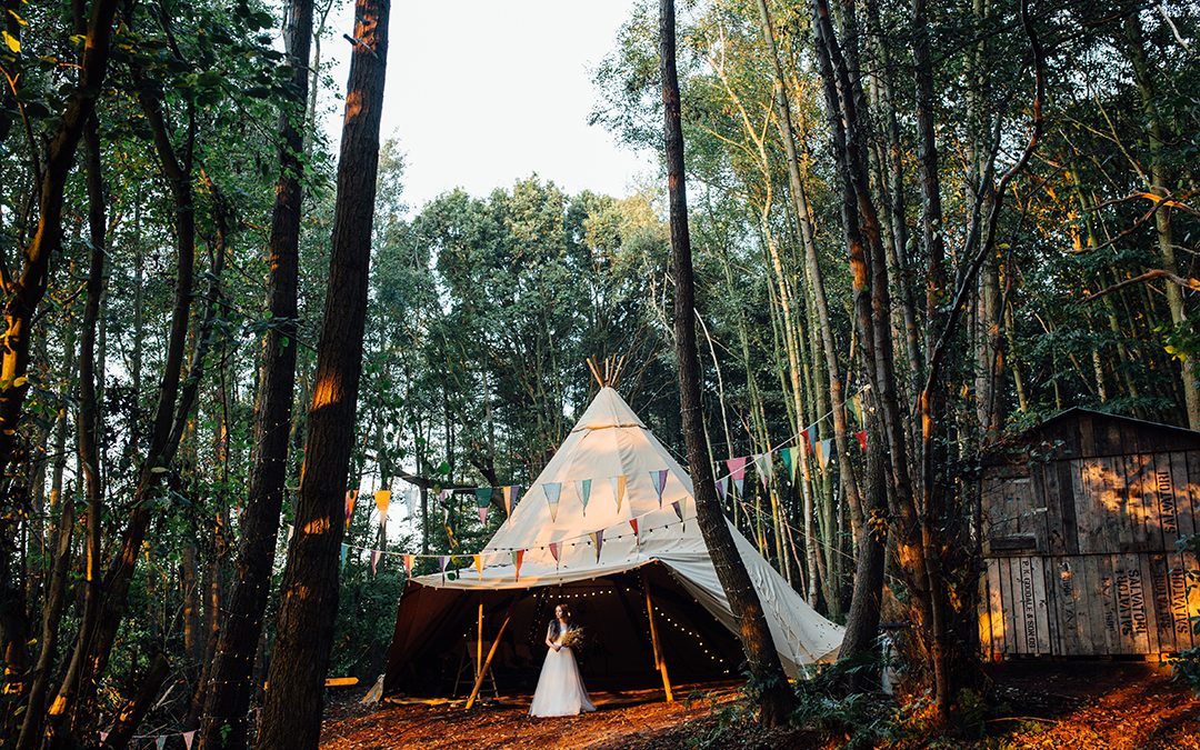 Boho Autumnal Luxe in a Wilderness In Kent