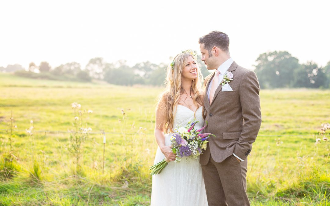 Lynsi and Paul's Laid back Handmade Bohemian Tipi Wedding