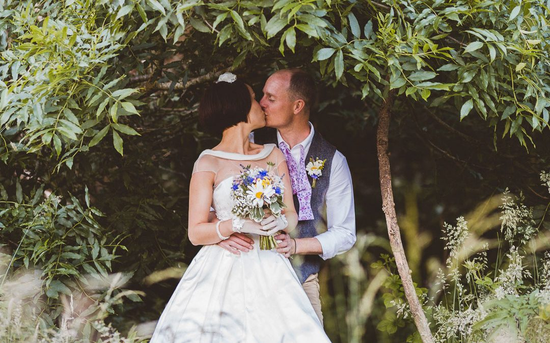Jen and Mat's Relaxed & Fun Outdoor Festival Style Wedding with a Vintage Touch