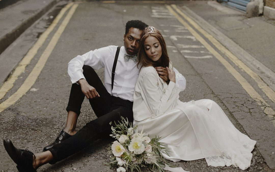 Love On The Streets of London | An Urban Wedding Shoot in Shoreditch