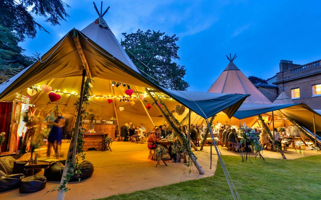 Festival Brides Love: World Inspired Tents