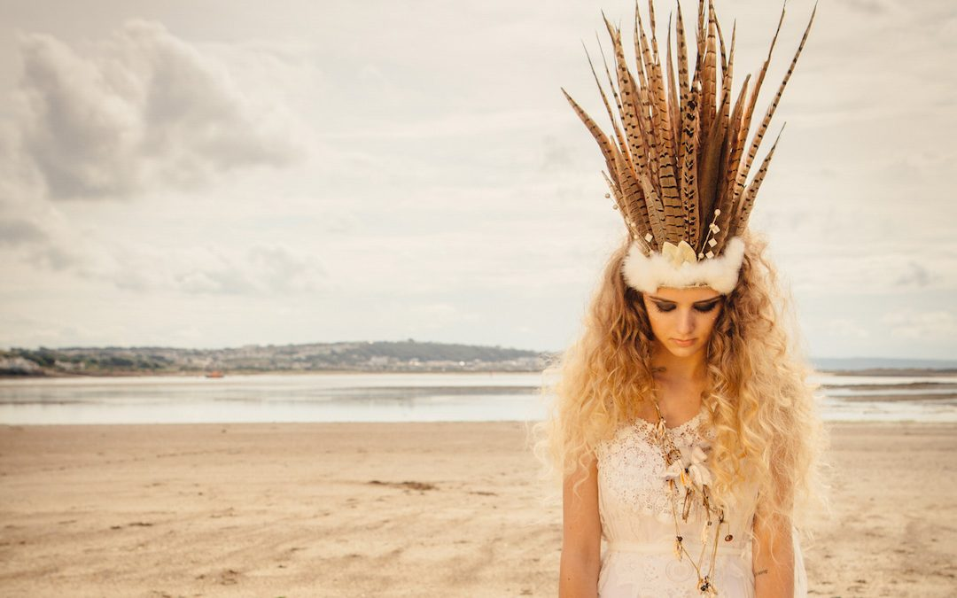 Set Adrift | A Bohemian Beach Wedding Styled Shoot by Blue Fizz Events