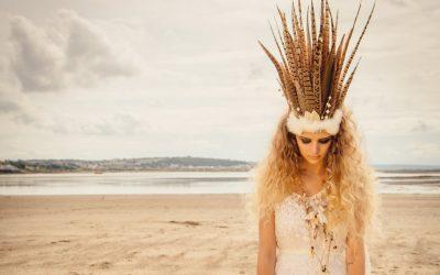 Set Adrift   A Bohemian Beach Wedding Styled Shoot by Blue Fizz Events