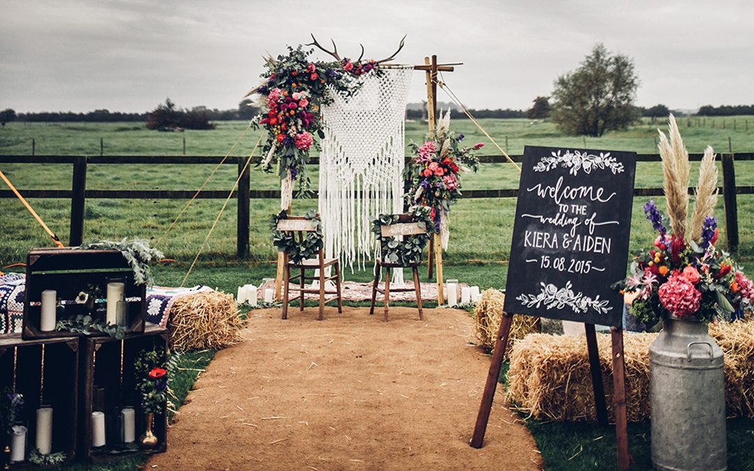 10 Boho Decor Details Every Festival Wedding Needs….