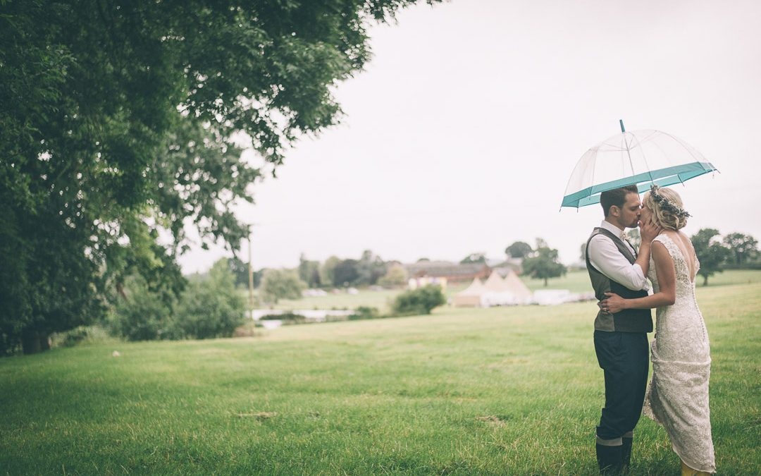 Helen & Tom's Relaxed & Informal Festival Tipi Wedding: Eastival