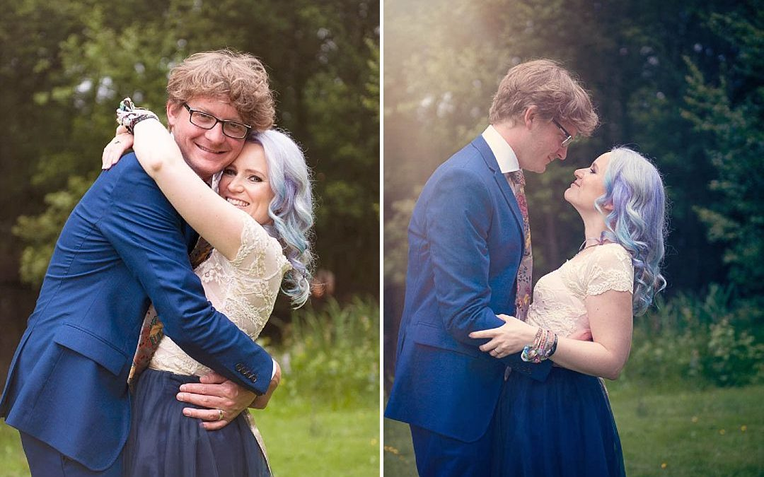 Jo and Jay's Sustainable, Quirky and Off-Beat Festival Wedding