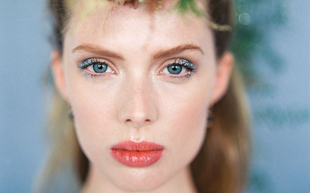 Glitter Hair and Makeup Wedding Inspiration Shoot