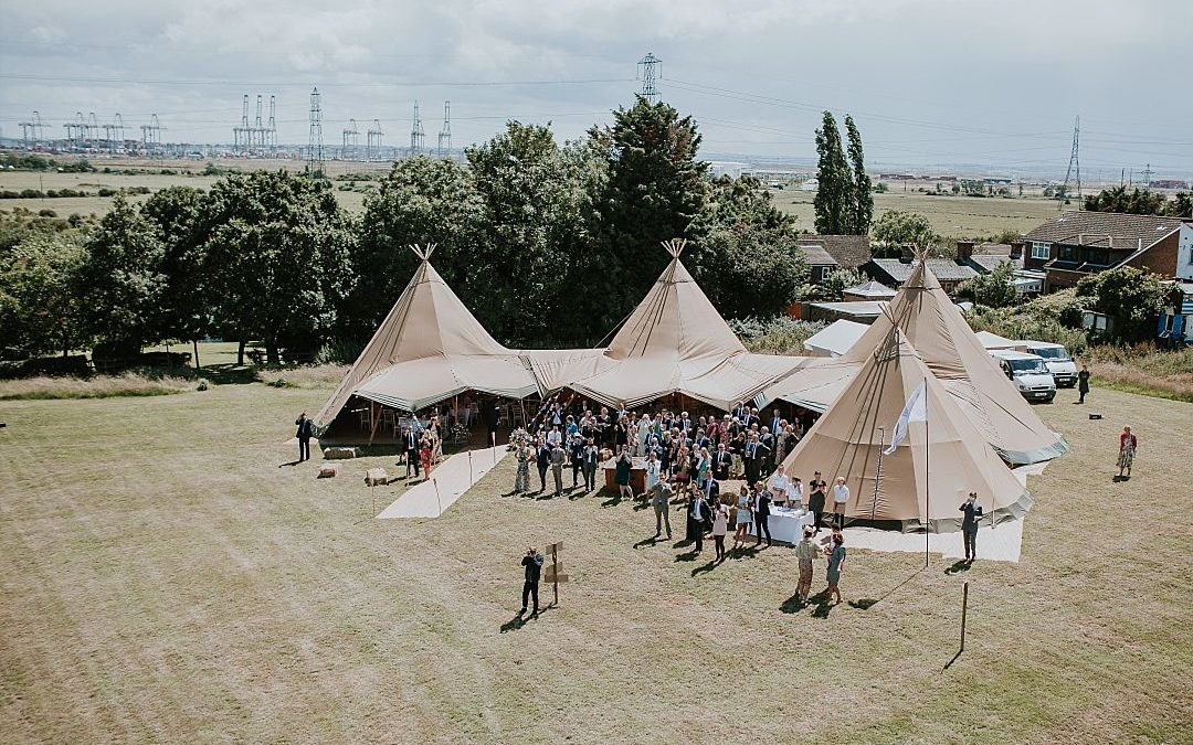 Events Under Canvas I Wedding Tipis, Sailcloth Tents & Bell Tent Hire