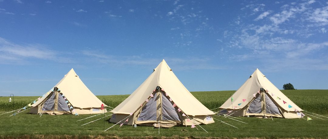 Festival Brides Love: Great British Glamping