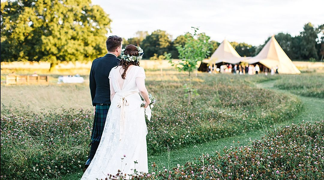 Festival Brides Love: Home Farm Glamping