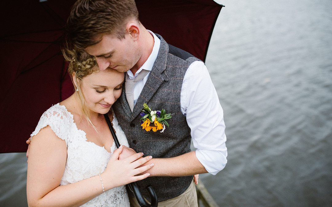 Lisa and Luke's Relaxed & Rustic Festival Wedding on a Fishing Farm