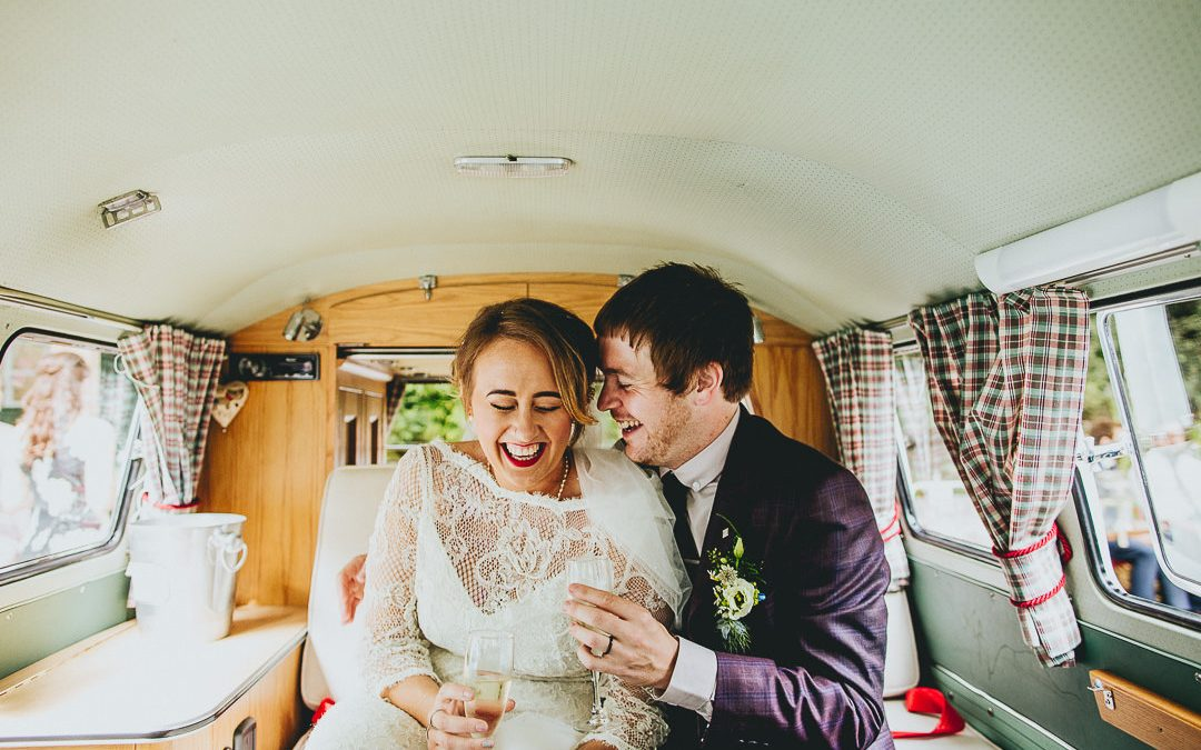 Aimee & Jonny's Chilled, Natural & Fun Outdoor Wedding with a Vintage Twist
