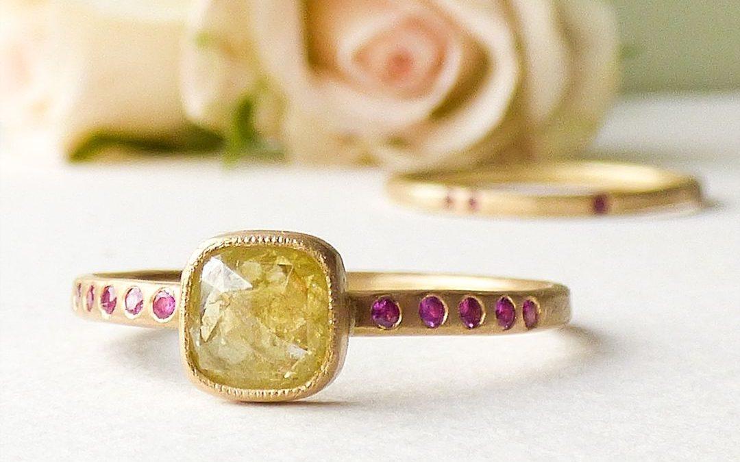 Festival Brides Love: Shakti Ellenwood I Handcrafted Ethical Engagement & Wedding Rings