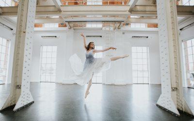 A Modern Romance | A Ballet Inspired Bridesmaid Dress Editorial by Grace Lane London