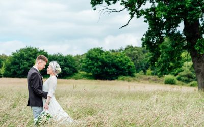 Amber and Josh's Intimate and Relaxed Back Garden DIY Wedding….
