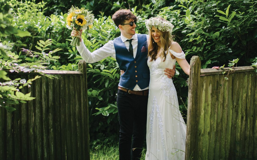 Harriet and Stuart's Relaxed and Bohemian Summer Party In The Country