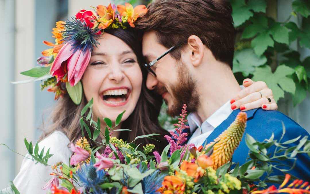 Aloha Means Love | A Colourful & Fun Tropical Inspired Wedding Shoot