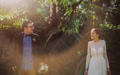 Henar and Pablo's Intimate Modern Wedding In Madrid