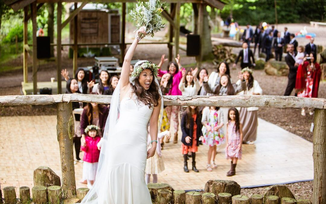 Festival Brides Love: The Woodland & Secret Walled Garden at Wasing