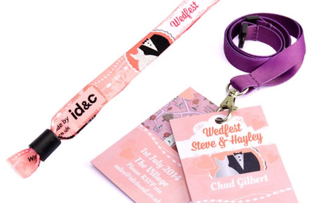 Festival Brides Love: ID&C | Festival Wristbands & Lanyards