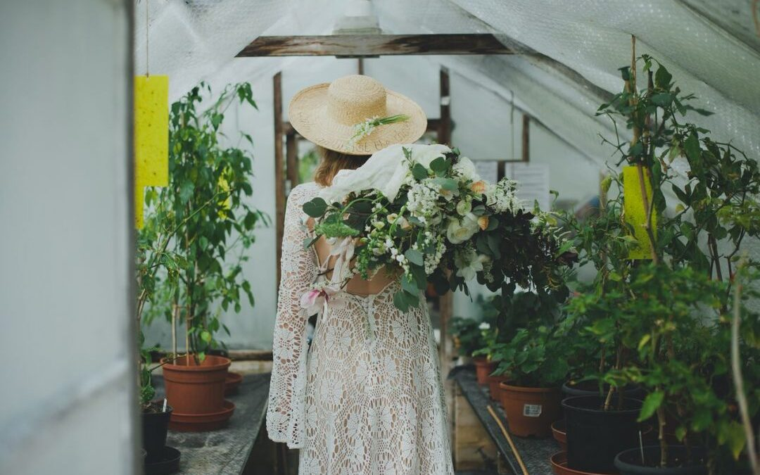 WIN YOUR WEDDING DRESS FROM CALM AMONGST THE CHAOS