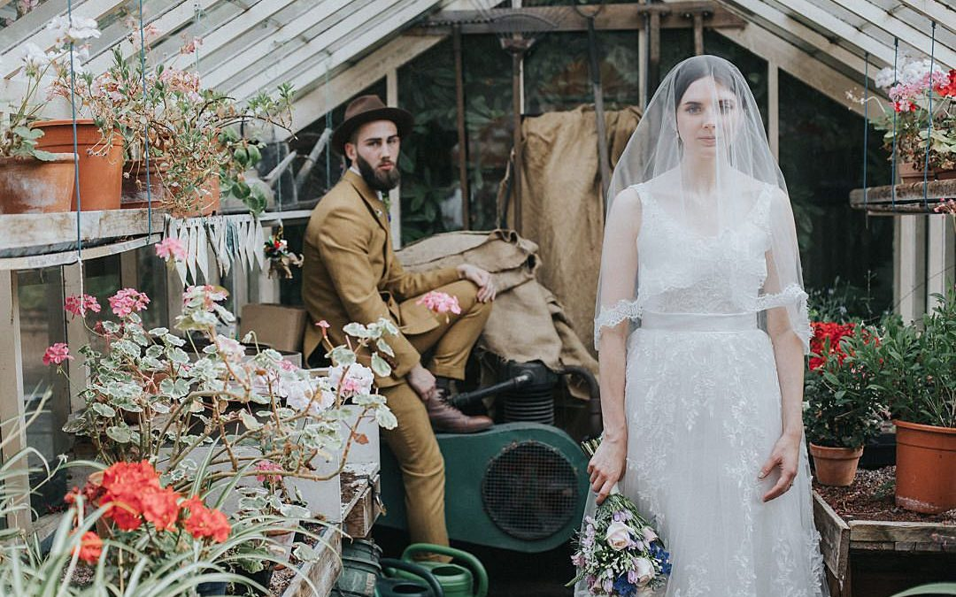 Emilie and Soloman's Beautiful Hipster Countryside Wedding