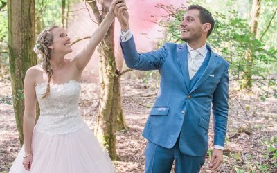 Simone and Steven's Whimsical Festival and Glamping Destination Wedding
