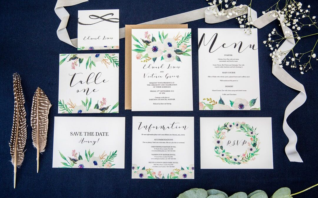 FESTIVAL BRIDES LOVE: DARLING ROSE | WEDDING STATIONERY