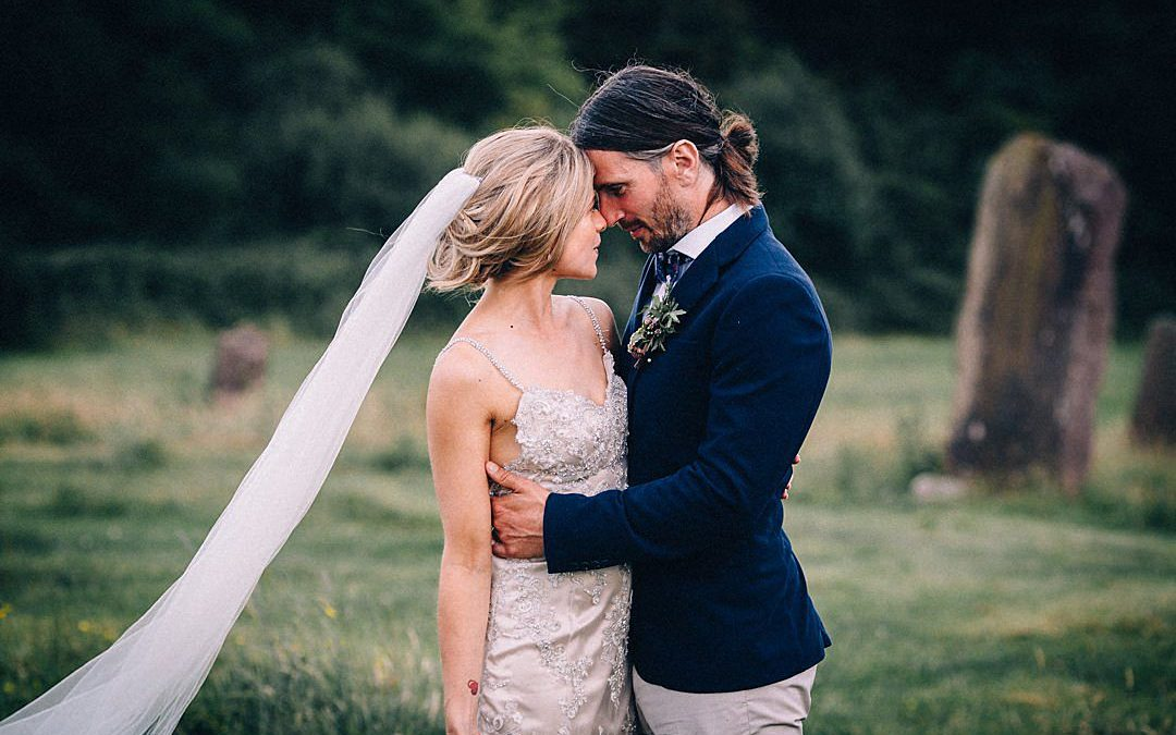 Roxy and James' Rural Bohemian DIY Wedding