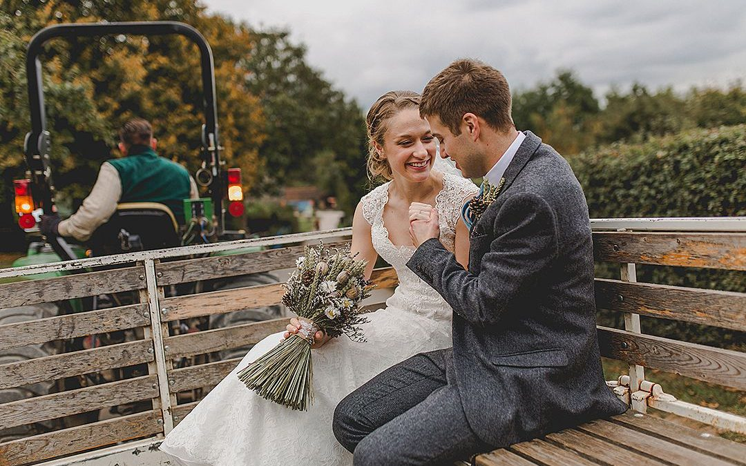Steph and Jason's Relaxed Farm Wedding
