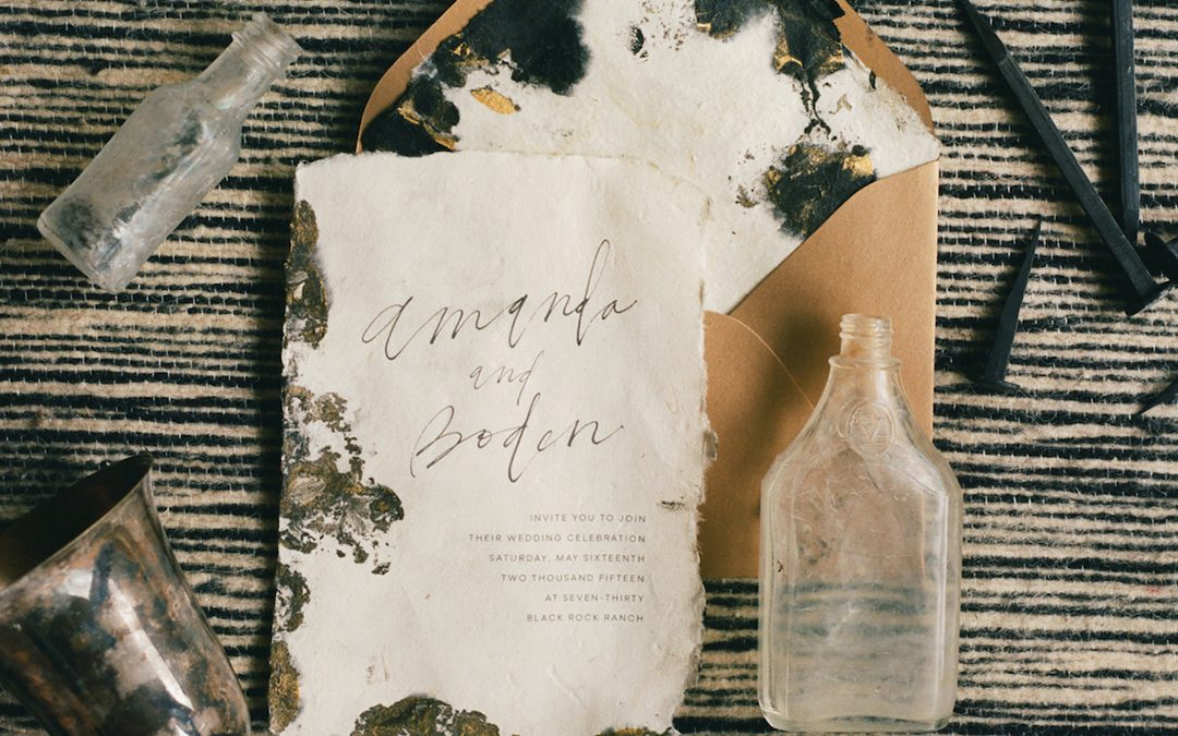 Natural Wedding Styling | Notes on Soft Earthiness