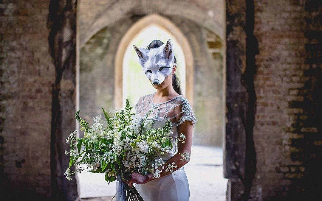 A Strong, Feminine and Mysterious Nordic Inspired Styled Wedding Shoot