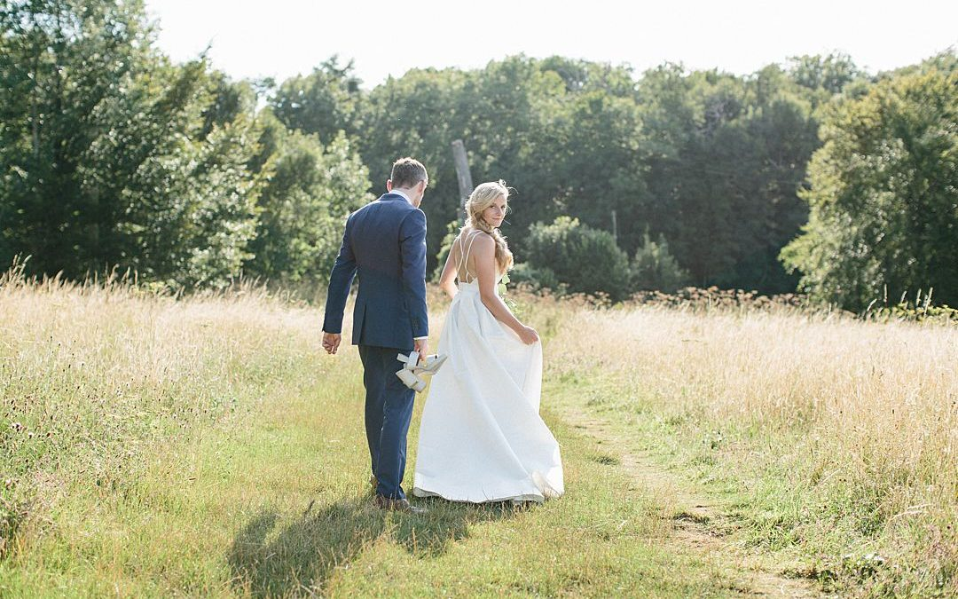Amelia and Lee's Surrey Hills Summer Wedding