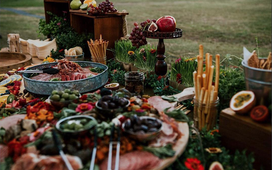 Luxe Wedding Catering | the Abundant Grazing Table Revisited