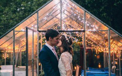 Sam and Poppy's Rustic Garden Marquee Wedding