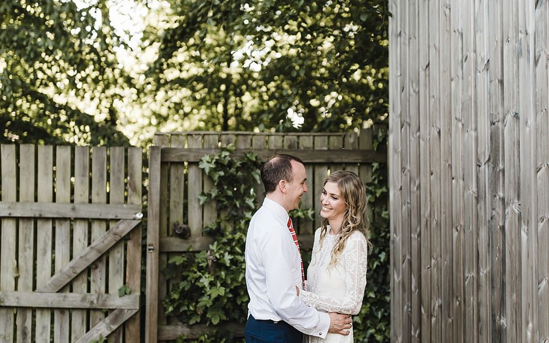Chris and Rebecca's Bohemian Spring Garden Wedding