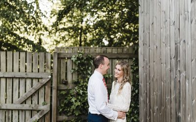 Chris and Rebecca's Bohemian Spring Garden Wedding