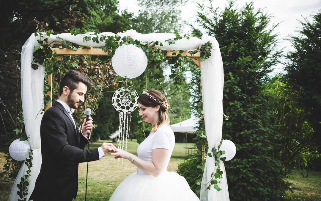 Claire and Jeremy's French Rock and Roll Wedding